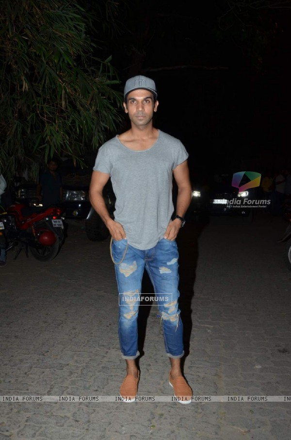 Rajkummar Rao at Tanu Weds Manu Returns Success Bash