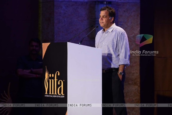 Raj Nayak at IIFA Malaysia Press Meet