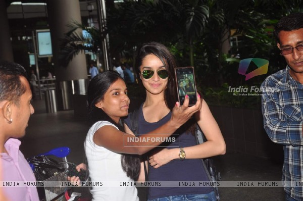 Shraddha Kapoor Returns From AIBA