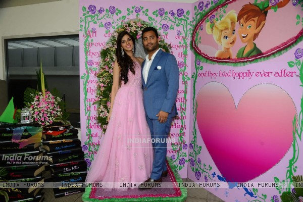 Nishka Lulla with her Husband!