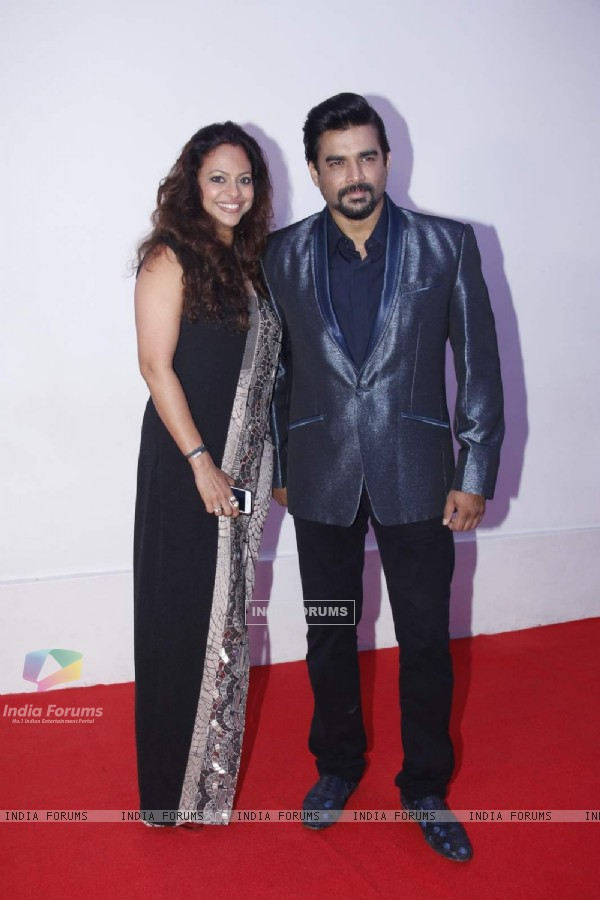 R. Madhavan With His Wife!
