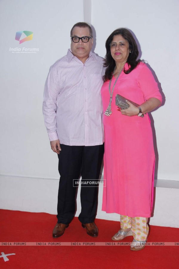 Ramesh Taurani at R. Madhavan's Birthday Bash!