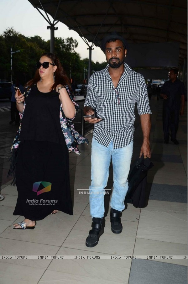 Remo Dsouza Snapped at Airport