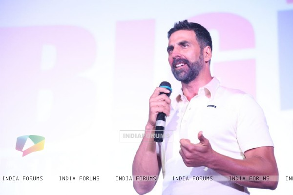 The Bearded Hunk Akshay Kumar at Big Deal TV Launch