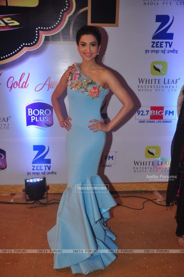 Gauahar Khan at Gold Awards