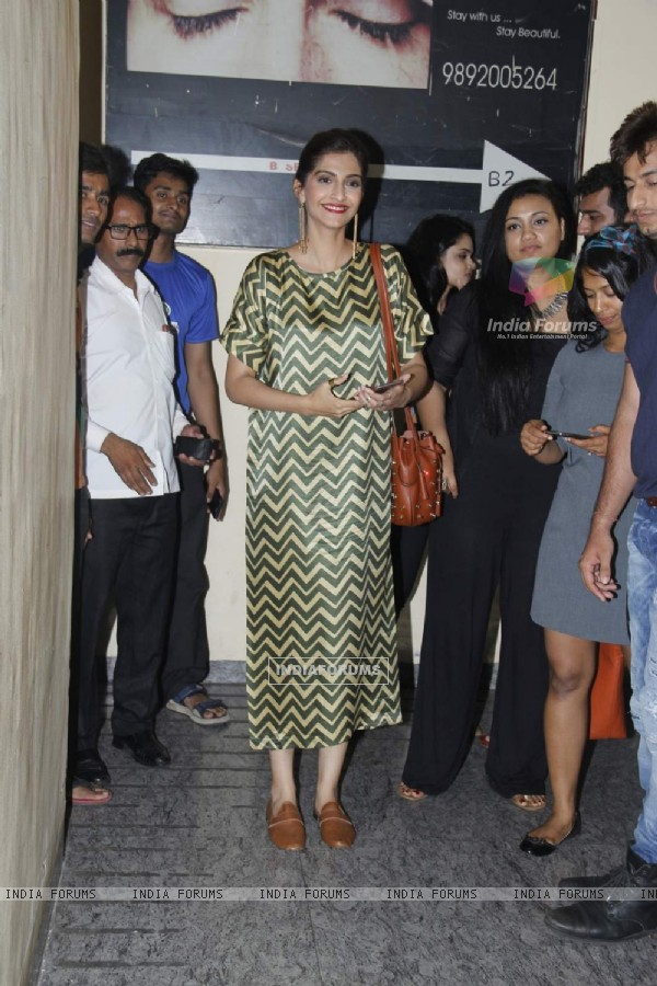 Sonam Kapoor at Screening of Dil Dhadakne Do
