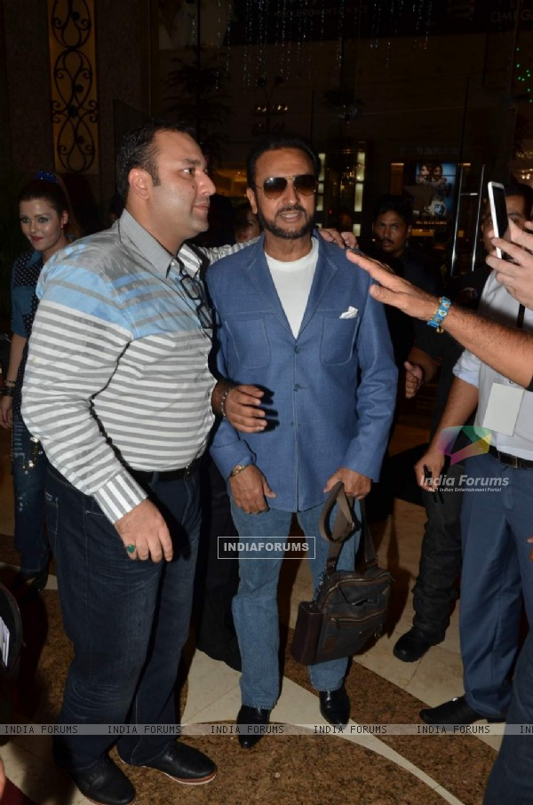 Gulshan Grover poses for the media at Malaysia