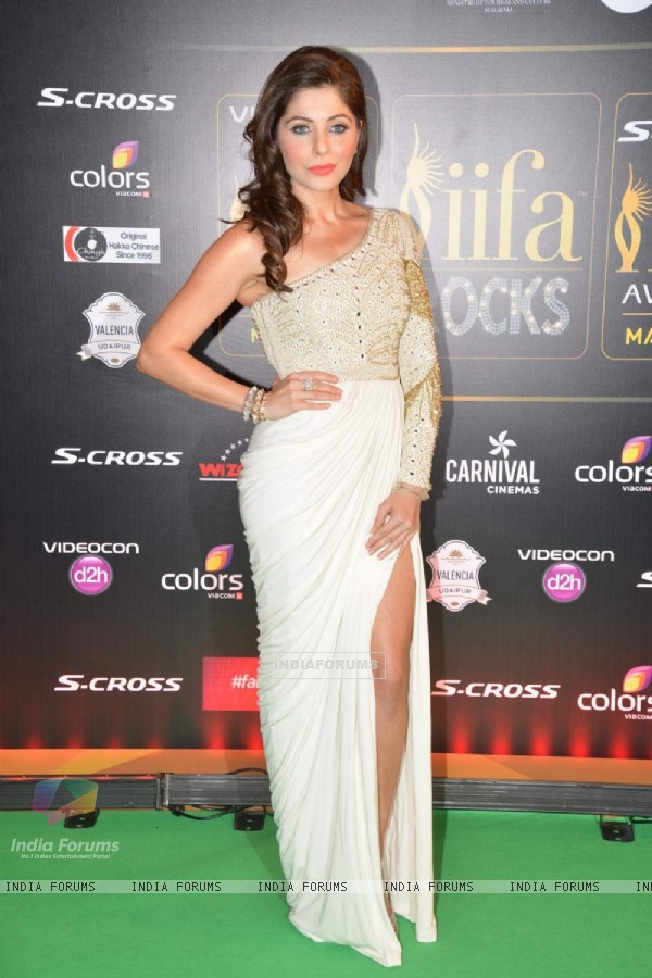 Kanika Kapoor at IIFA Awards