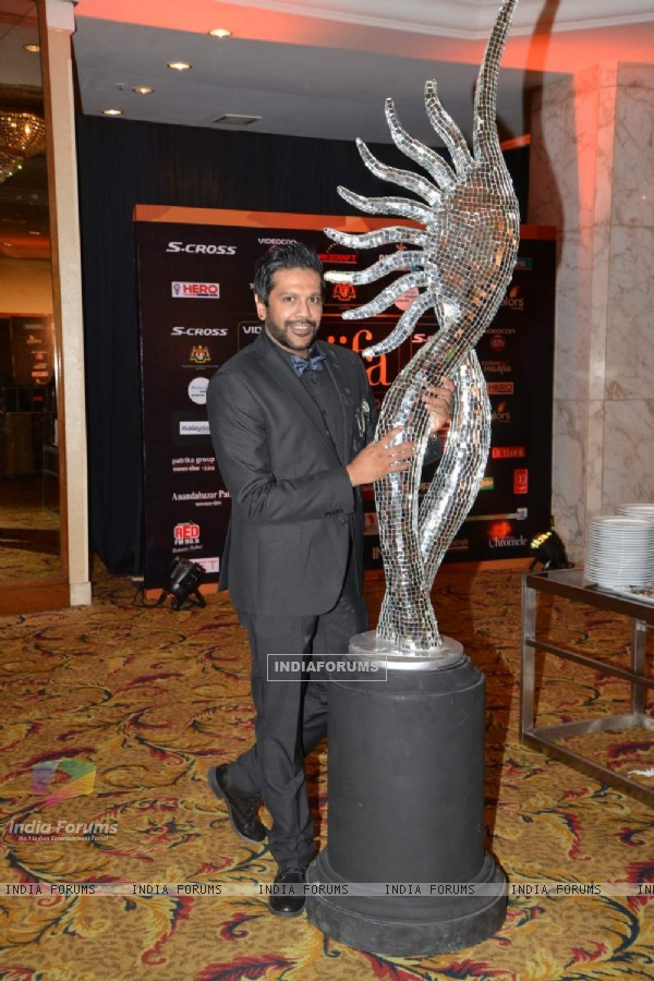 Rocky S poses for the media at IIFA 2015 Day 2