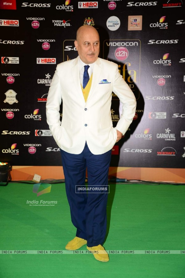 Anupam Kher at IIFA Awards