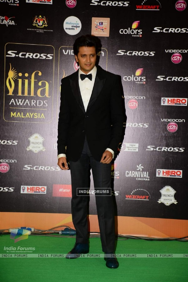 Riteish Deshmukh at IIFA Awards