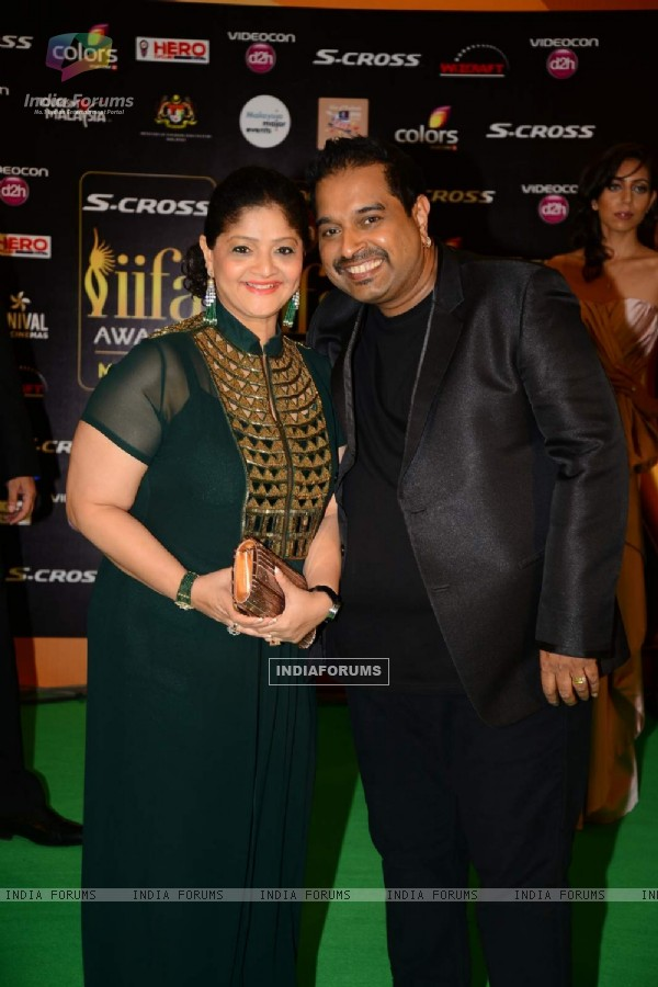 Shankar mahadevan at IIFA Awards