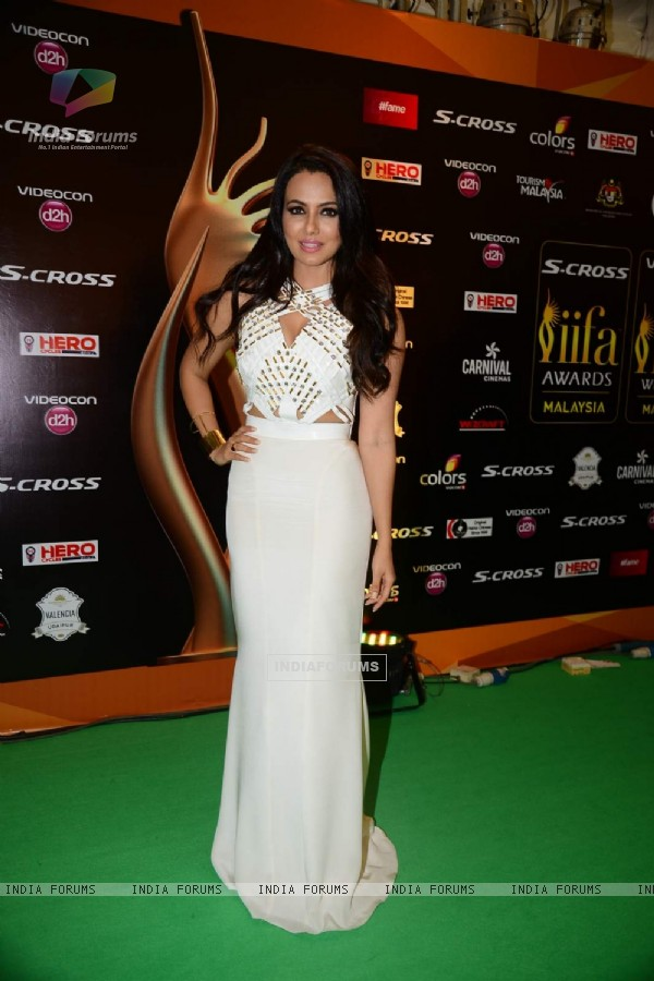 Sanaa Khan  at IIFA Awards