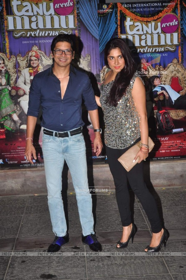 Shaan at Tanu Weds Manu Returns Success Bash!