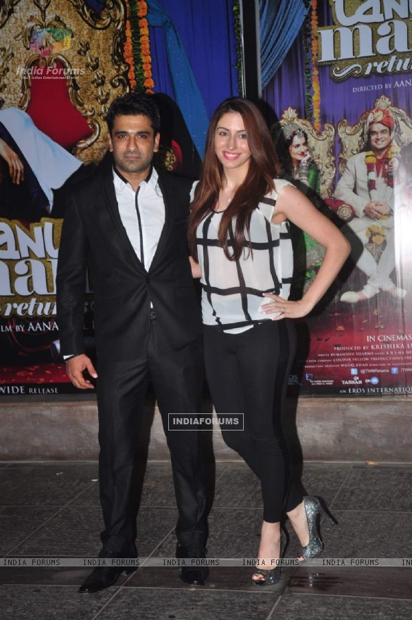 Eijaz Khan at Tanu Weds Manu Returns Success Bash!