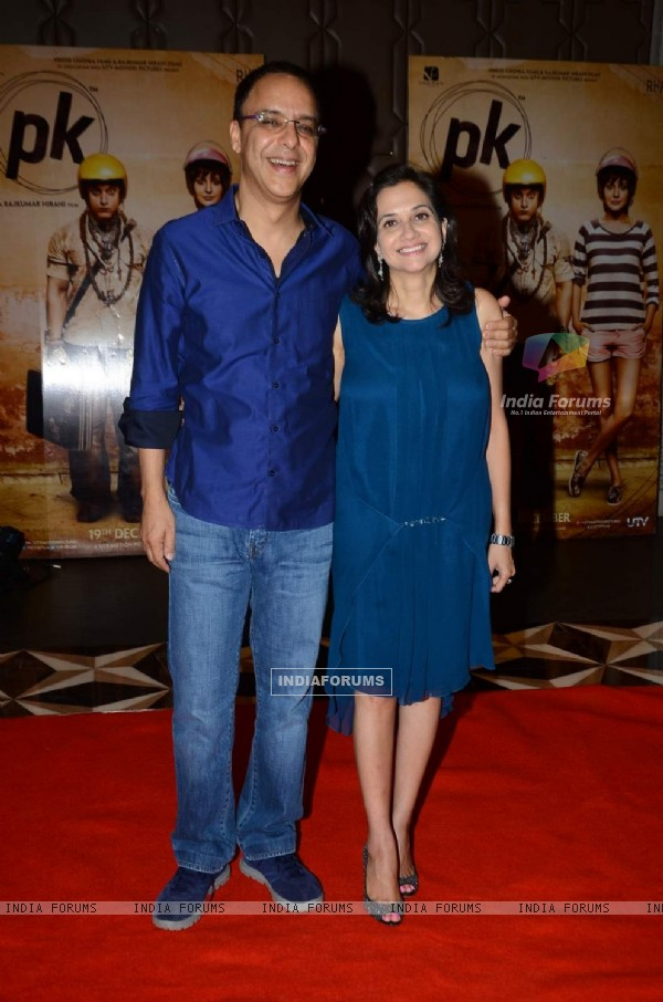 Vidhu Vinod Chopra at Success Bash of PK