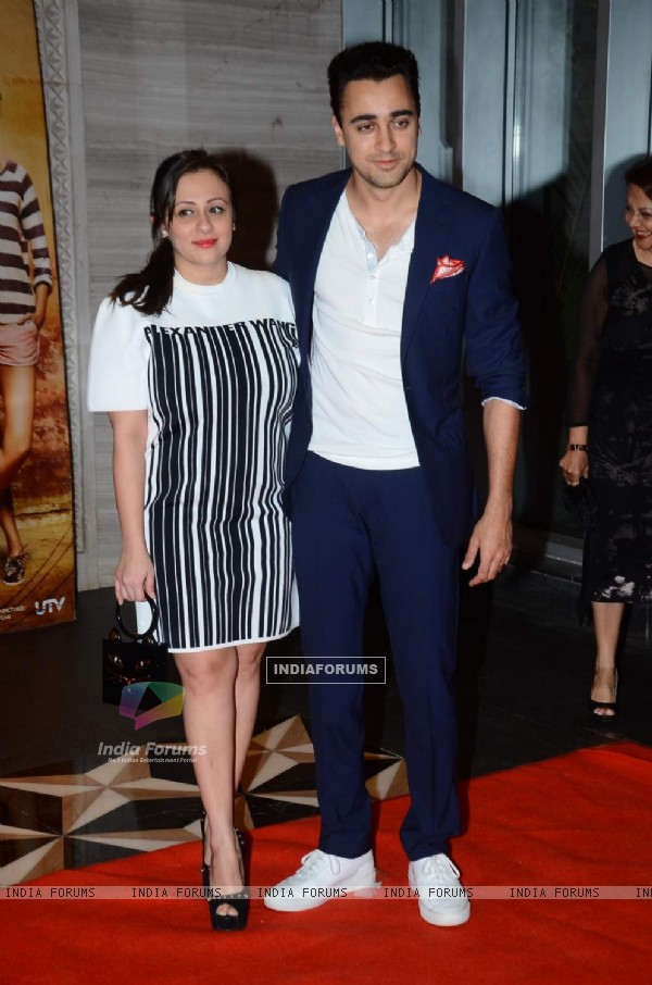 Imran Khan With HIs Wife at Success Bash of PK