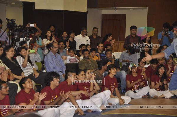 Suniel Shetty Attends a School Event