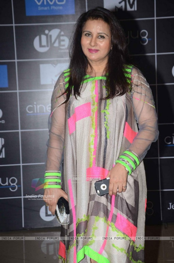 Poonam Dhillon at MTV Bollyland