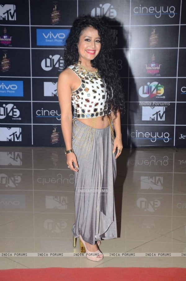 Neha Kakkar  at MTV Bollyland