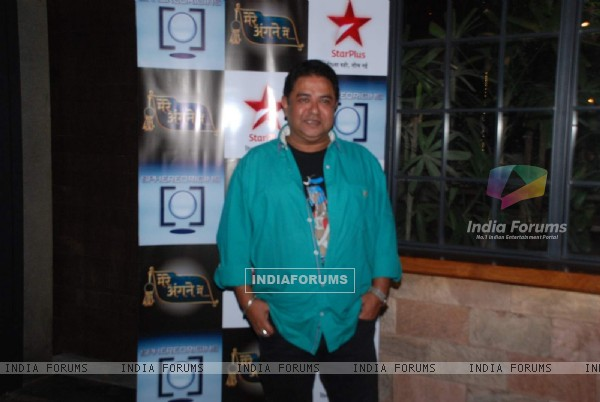 Ashish Roy Snapped at Mere Angne Mein Bash!