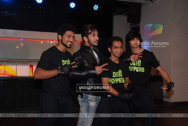 Terence Lewis, Shantanu, Macedon and Nimit Snapped at Bindass Tv Shoot!