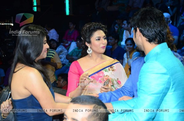 Divyanka Tripathi and Ekta Kapoor on Nach Baliye 7