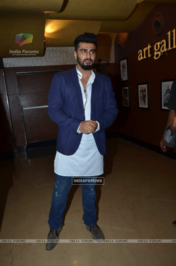 Arjun Kapoor was at the Special Screening of ABCD 2