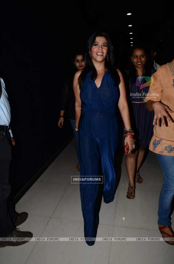 Ekta Kapoor on the Sets of Nach Baliye!
