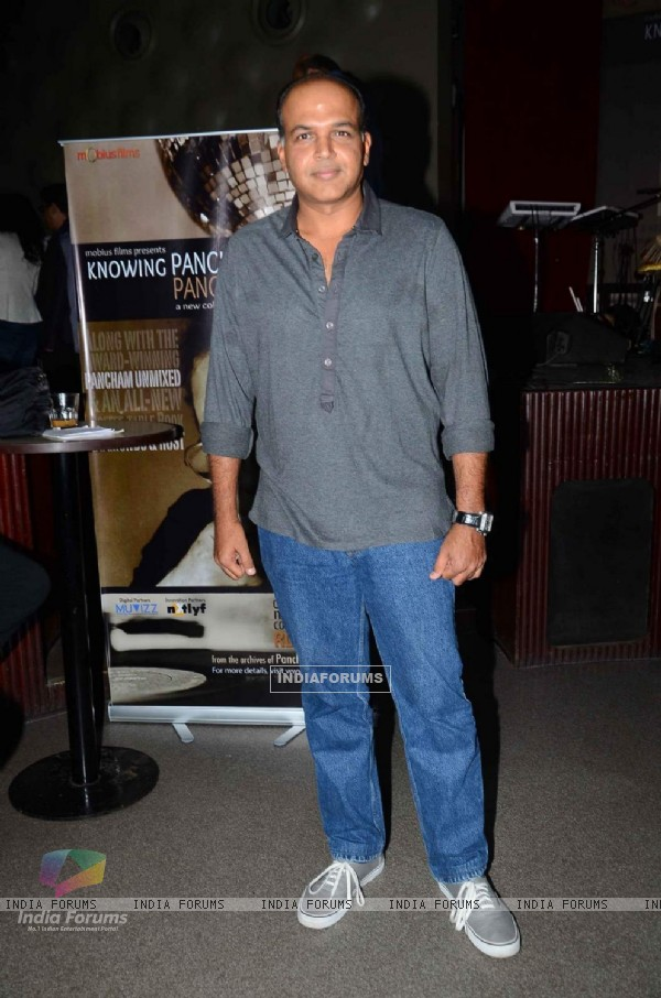 Ashutosh Gowarikar at Launch of 'Knowing Pancham & Pancham Unmixed'
