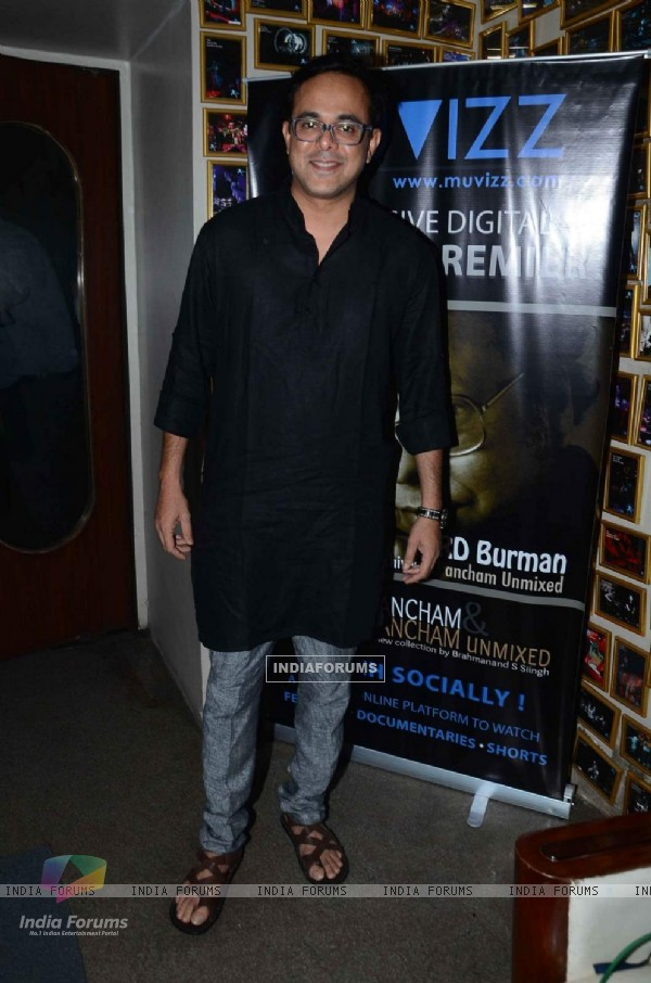 Sumeet Raghavan at Launch of 'Knowing Pancham & Pancham Unmixed'