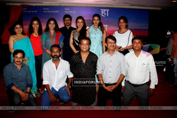 Renuka Shahane, Tisca Chopra and Huma Qureshi at Music Launch of Marathi Movie 'Highway'
