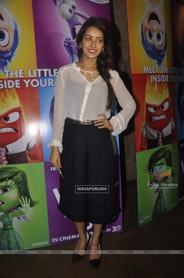 Asha Negi at Special Screening of Inside Out