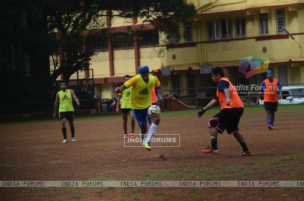 Ranbir Kapoor Snapped at All Star Football Practice Session