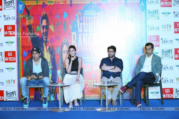 Guddu Rangeela Team for Promotions in Delhi