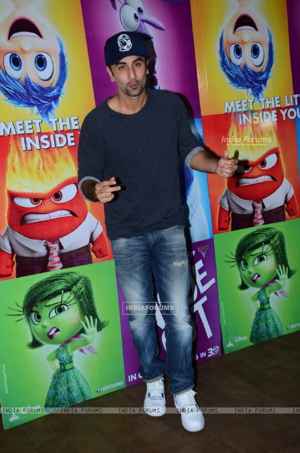 Ranbir Kapoor at Screening of Inside Out