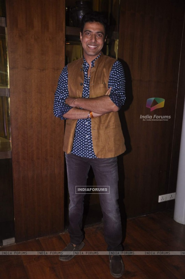 Ranveer Brar at Book Launch of Saransh Goila