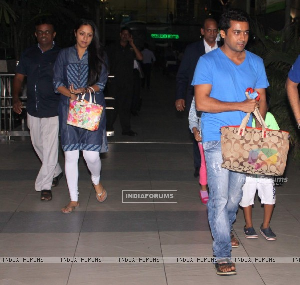 Surya Snapped at Airport