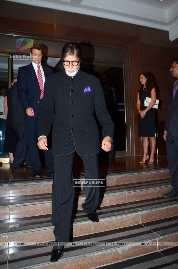Big B Attends an Event Hosted by the US Consulate at Taj Lands End