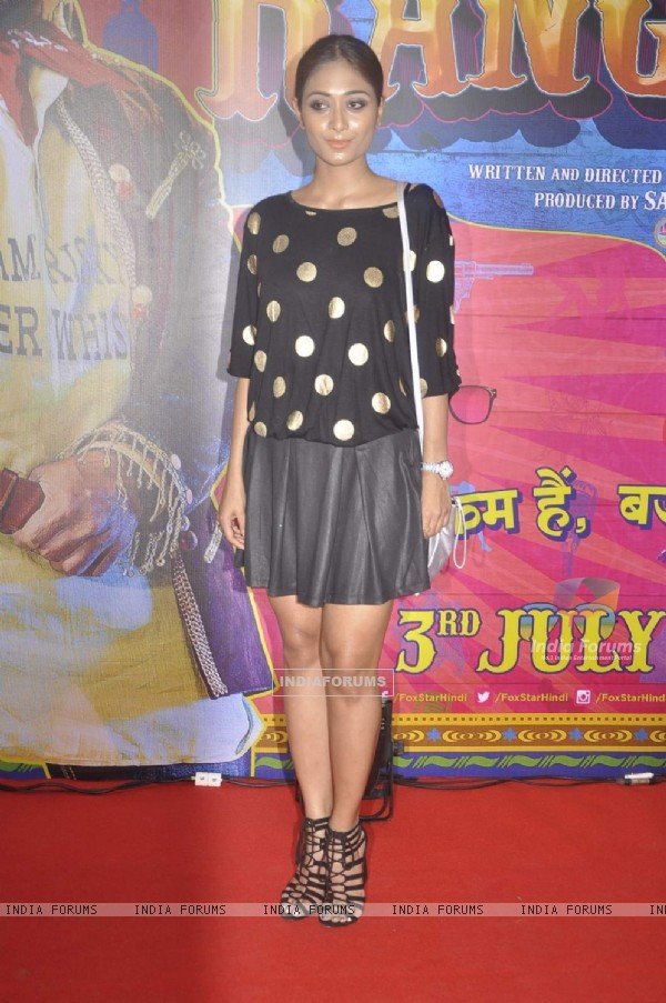 Satarupa Pyne at Premiere of Guddu Rangeela