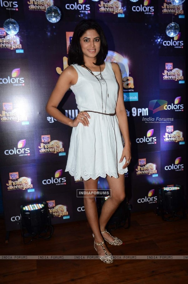 Kavita Kaushik at the Launch of Colors Jhalak Dikhla Jaa Season 8