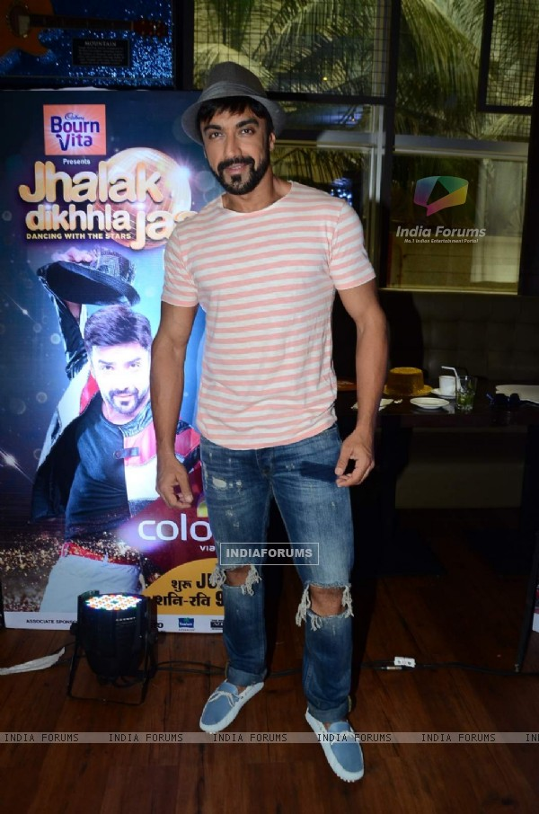 Ashish Chowdhry at the Launch of Colors Jhalak Dikhla Jaa Season 8