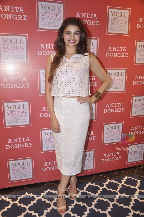 Prachi Desai at Anita Dongre and Vogue Wedding Show