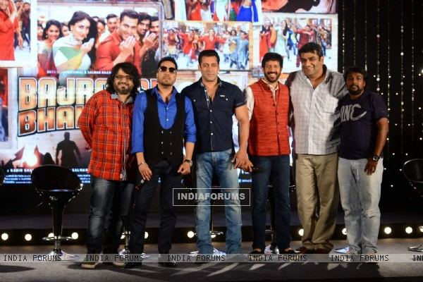 Bajrangi Bhaijaan Team at Song Launch