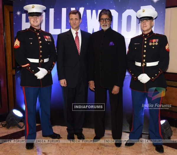 Amitabh Bachchan Snapped at an Event