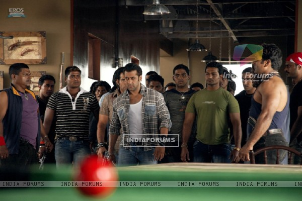 Salman Khan coming with lots of men
