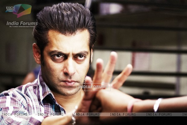 Salman Khan looking angry