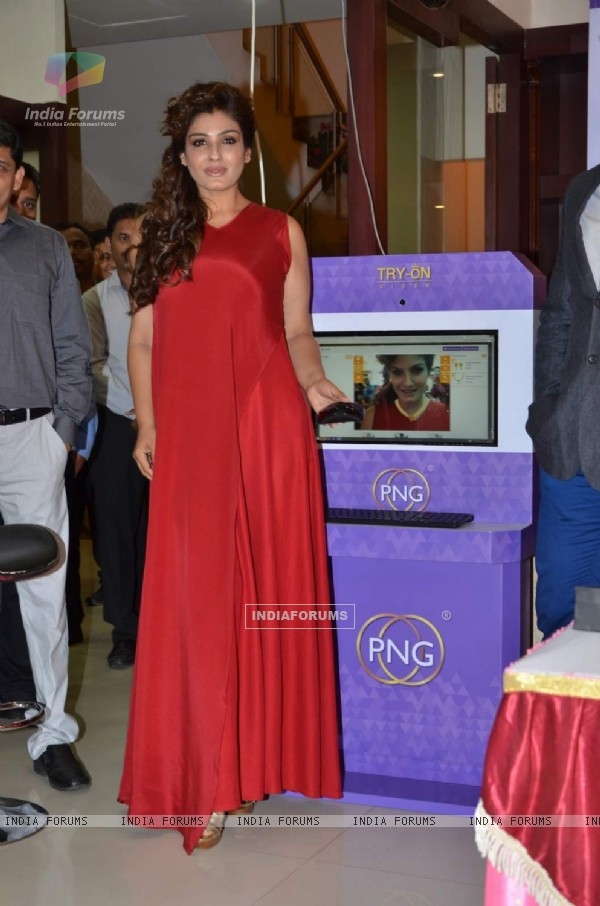 Raveena Tandon at PN Gadgil Website Launch