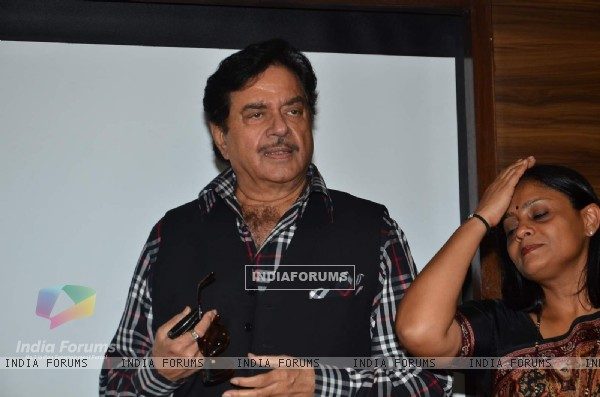 Shatrughan Sinha was snapped at Society Magazine Cover Launch