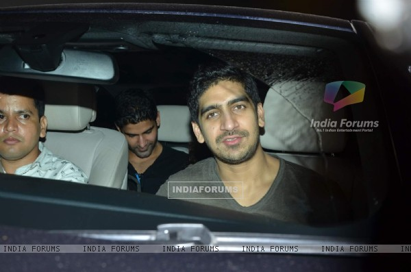 Ayan Mukerji was snapped at the Special Screening of Bahubali